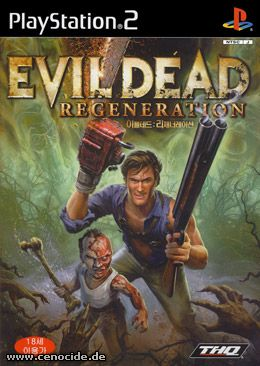 EVIL DEAD - REGENERATION (PLAYSTATION 2) - FRONT