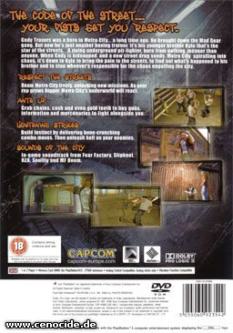 FINAL FIGHT - STREETWISE (PLAYSTATION 2) - BACK
