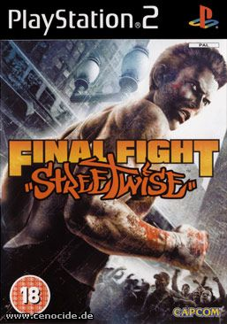FINAL FIGHT - STREETWISE (PLAYSTATION 2) - FRONT