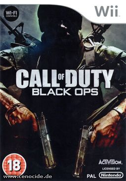 CALL OF DUTY - BLACK OPS (WII) - FRONT