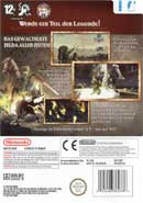 LEGEND OF ZELDA - TWILIGHT PRINCESS back preview
